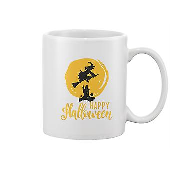 Witch Happy Halloween Mug -Image by Shutterstock