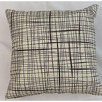 2 X Brown Light Cushion Covers