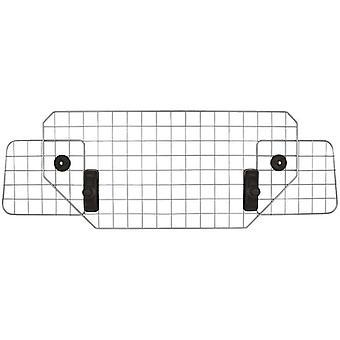 dog rack headrest steel silver