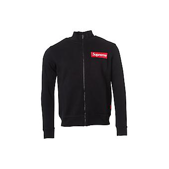 Black Jacket Supreme Grip man