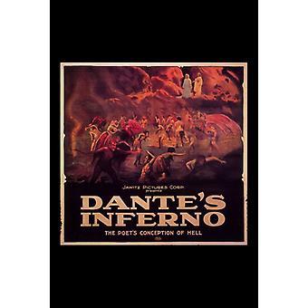Dantes Inferno film plakat Print (27 x 40)