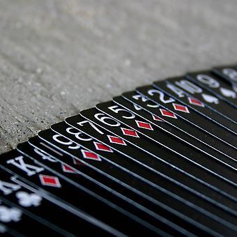 لعبة الدراجات السوداء شبح لعب بطاقات
