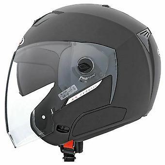 Caberg Jet Sintesi Helmet Matt Black Double Visor  Bluetooth-Ready ACU Approved