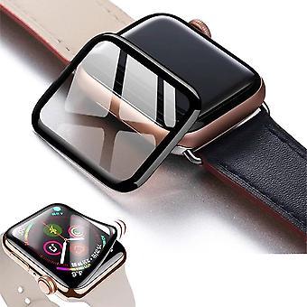 Apple Watch Cubierta completa-3dtempered Glass para Series 5 4 3 2 1 Pantalla de cristal