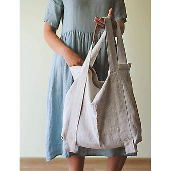 Linen Tote Bag In Various Colors