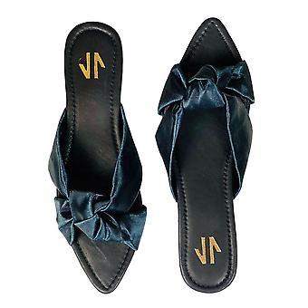 Flat Sandals Silvia Cobos Love Black