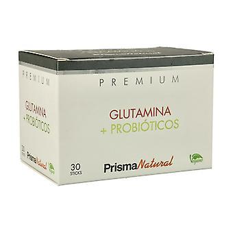 Glutamin och probiotiska 30 enheter