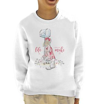 Holly Hobbie Life er, hvad du gør det Kid's Sweatshirt