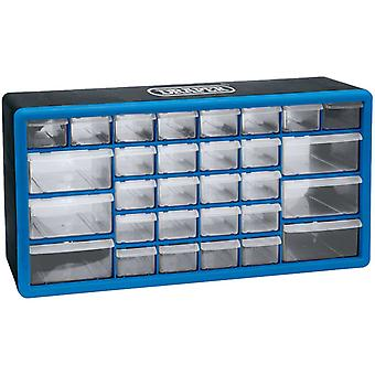 Draper Tools drawer with 30 compartments Blue 12015