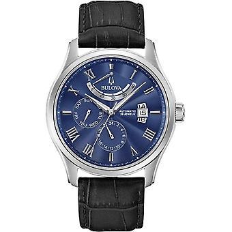 Montre-bracelet automatique Bulova 96C142 Homme's Classic Blue Dial Wilton