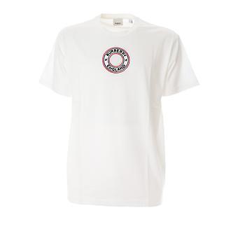 Burberry 8037048a1464 Men's White Cotton T-shirt