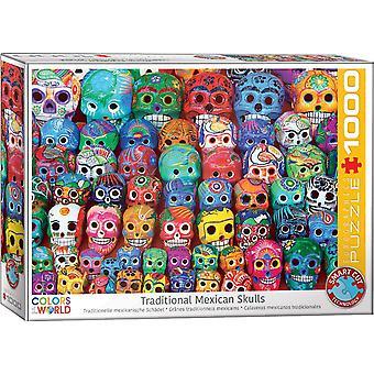 Eurographics - traditional mexican skulls