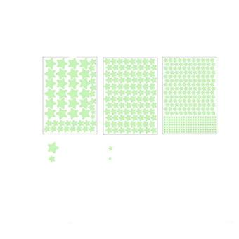 Glow In Dark-luminous Stars And Dot Stickers For Bedroom
