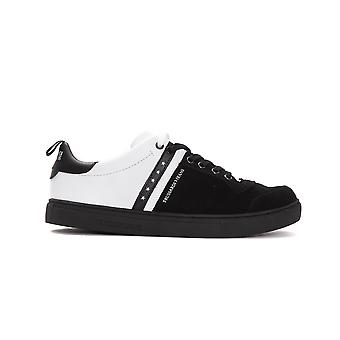 Trussardi Jeans Black/White  Low Top Sneakers