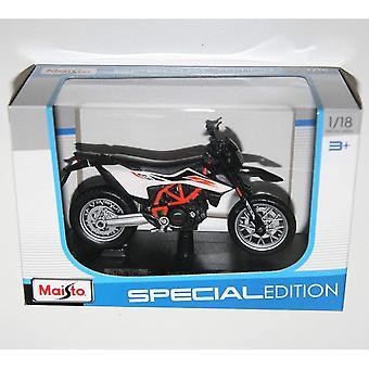 Maisto - KTM 690 SMC R - Motorcykel Die Cast Modell Skala 1:18