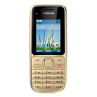 Nokia C2-01 3.15mp 3g Russian, Arabic Or Hebrew Keyboard Support Cellphone