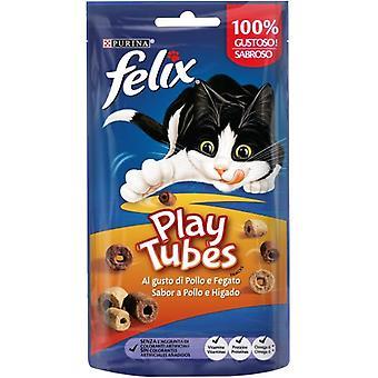 Felix Play Tubes Poulet et foie (Chats , Snacks et friandises , Biscuits)