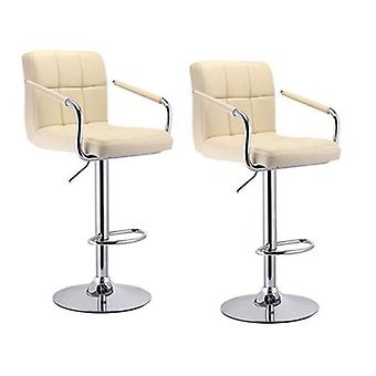 بار كرسي بار البراز الحديثة مع مسند القدمين مع كراسي بار مسند الذراعين