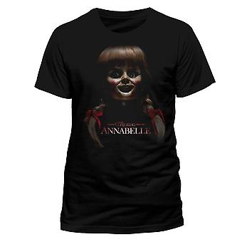 Annabelle Unisex Adult Scary Face T-Shirt