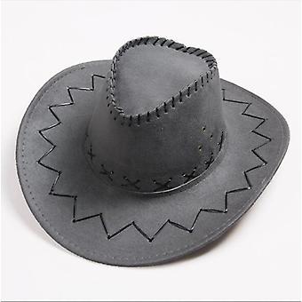 Fashion Western Cowboy Hat Large Brimmed Hat Or Female Western Hat Cowboy Cap