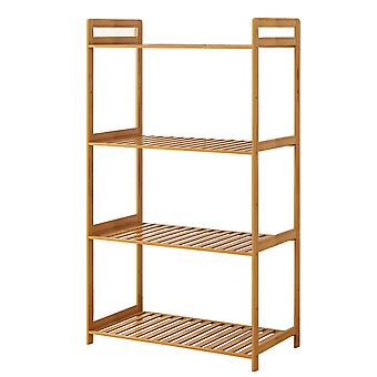 4 Layer Bamboo Shelf