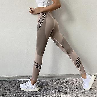 vrouwen hoge taille perzik, heupen leggings, sport stretch fitness broek