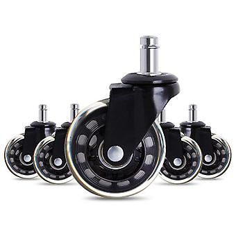 5pcs Office Chair Caster - Rollerblade Style Castor Wheel