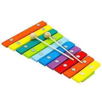 Alatoys خشبية Xylophone الطبيعية رسمت