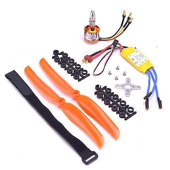 A2212 2212 1400kv Brushless Motor 30a Esc Motor Sg90 9g Micro Servo 8060