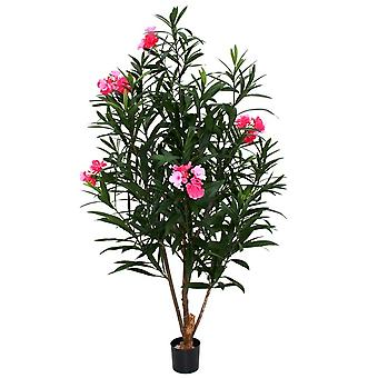 Oleander Deluxe artificiale 150cm rosa