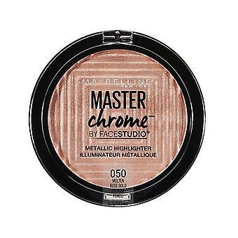 Maybelline Master Chrome Highlighter - 050 Oro Rosa Fuso