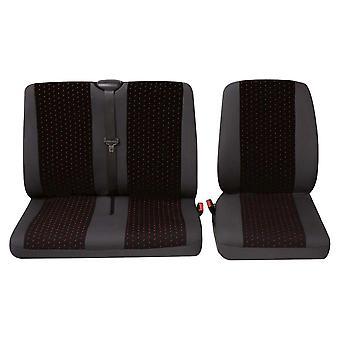 Universal van enda säte och dubbelt säte täcka god kvalitet, lätt att montera