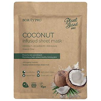 Beauty Pro Natura Coconut Oil Infused Sheet Mask