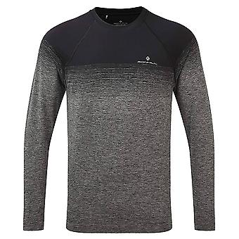 Ronhill Mens 2021 Marathon Long Sleeve Moisture Wicking Running T-Shirt
