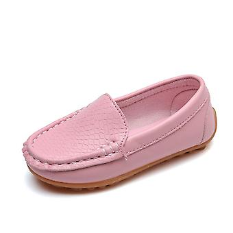 Kids Shoes, Candy Colors Unisex-girls Soft Loafers, Slip-on Pu Shoes