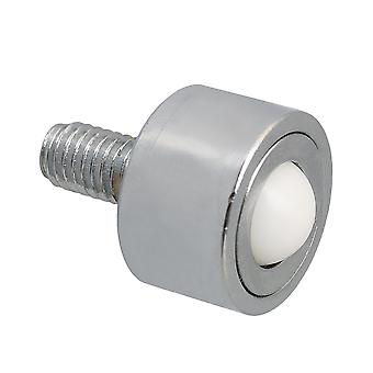 12mm Roller Ball Transfer Bearings M8x15mm Thread Stem Caster Wheel