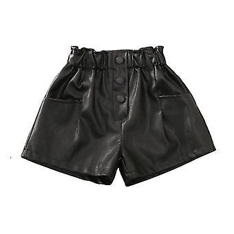 Tavaszi őszi pu rövidnadrág, baba nadrág, streetwear ruhák