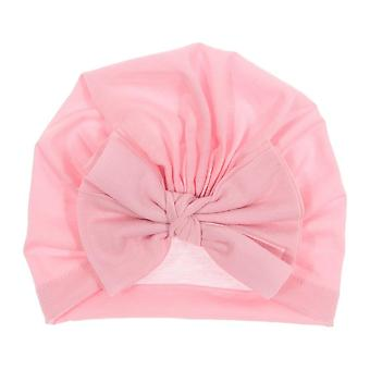 الشتاء الجديد الطفل قبعة القوس القطن محبوك دافئ، الاطفال بونيه كاب بيني أغطية الرأس