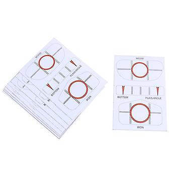 Labels Target Sticker Tape, Driver Iron Sweet Dot Test Paper Golf Accessorie