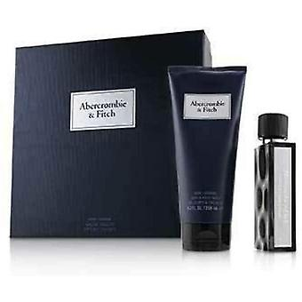 Abercrombie & Fitch First Instinct Blue For Men Eau de Toilette, 50ml and Hair and Body Wash,