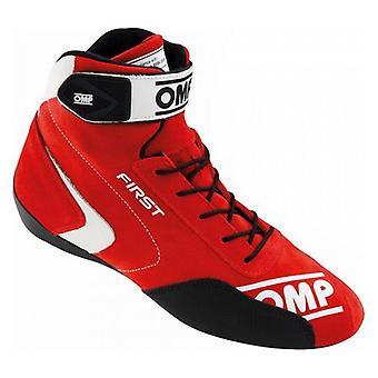 מגפי מירוץ OMP אדום ראשון (גודל 43)