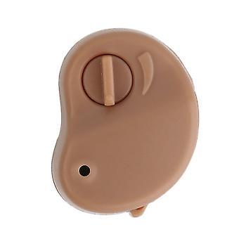 Hörapparat bärbar liten mini personlig ljudförstärkare i örontonen volym justerbar hörapparater vård släpp frakt