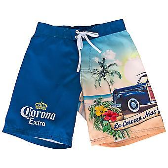 Corona Extra Crown Symbol og Strand badedragt