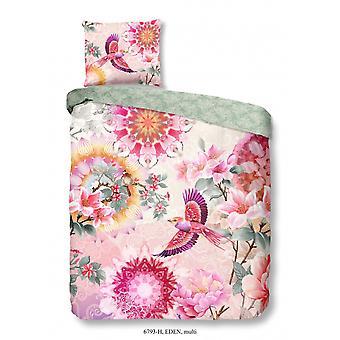 bed linen Eden 220 x 140 cm cotton pink 2-piece