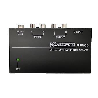 Ultrakompakter Phono Vorverstärker mit Rca