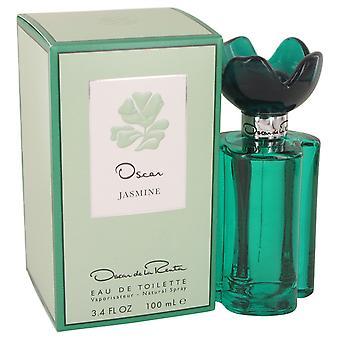 Oscar Jasmine by Oscar De La Renta Eau De Toilette Spray 3.4 oz
