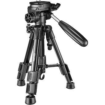 FengChun Mini Reise Tischplatte Kamera Stativ 62cm Leichtes und tragbares Aluminium mit 3-Wege