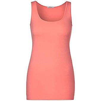 Cecil B315352 T-Shirt, Coral Soft Fiery, XS Woman