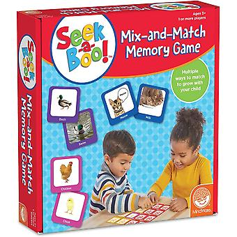 Mindware - seek-a-boo! - mix and match memory game