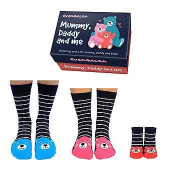 United Oddsocks passende Familie Socken